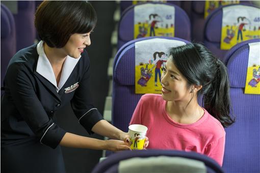 擁抱台灣美景 復興航空「小資女孩」主題機艙登場
