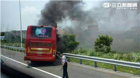桃園火燒遊覽車、陸客(圖/民眾提供)