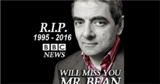 羅溫艾金森,Rowan Atkinson,烏龍死訊,圖/metro