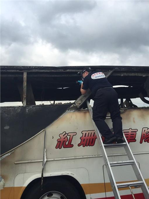火燒車;陳國恩;國道NPA 署長室臉書