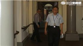 台北市長柯文哲遭監院約談大巨蛋案(記者林敬旻攝)