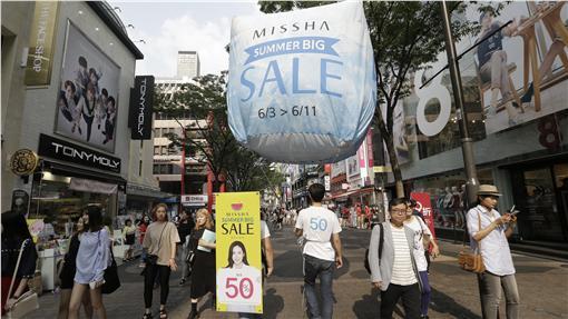 旅遊,韓國,購物,行程圖/美聯社/達志影像