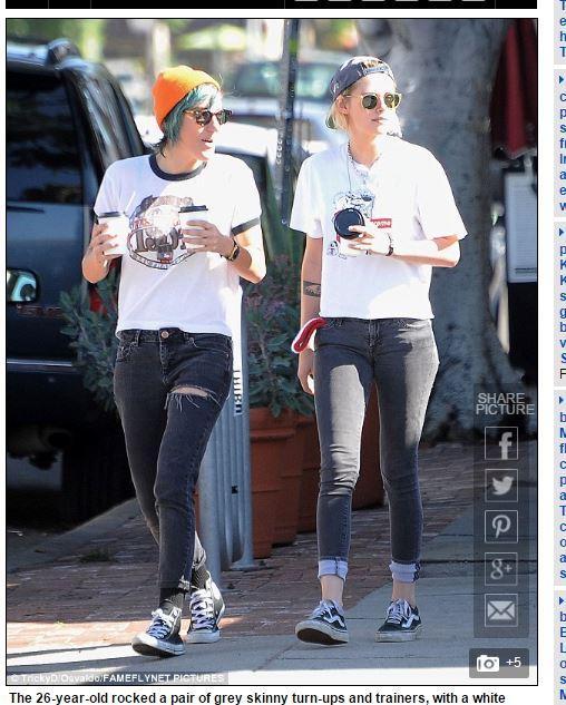 克莉絲汀史都華,Kristen Stewart,暮光女 圖/翻攝自每日郵報