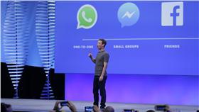 臉書,Facebook,Messenger,汽球,巧思,Mark Zuckerberg 圖/美聯社/達志影像