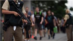 德,慕尼黑,購物商場,奧林匹亞,IS,伊斯蘭國,恐攻,槍擊,Olympia-▲(圖/達志影像/美聯社)