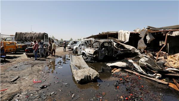 伊拉克首都巴格達北部常發生襲擊事件(資料照/路透社/達志影像)