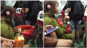 火車,讓位,婦人,車票,以貌取人/爆料公社