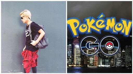 Pokémon GO,精靈寶可夢,何韻詩,合成圖/Pokémon GO、何韻詩臉書