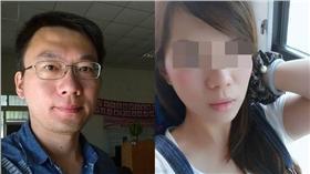 洪浩雲,謝依靜合成圖/臉書