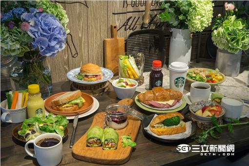 搶攻早午餐市場 星巴克狂推超過20種選擇