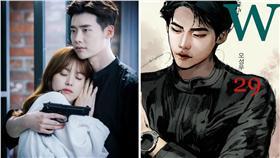 圖翻攝自MBC官網 李鍾碩 韓孝珠 合成圖