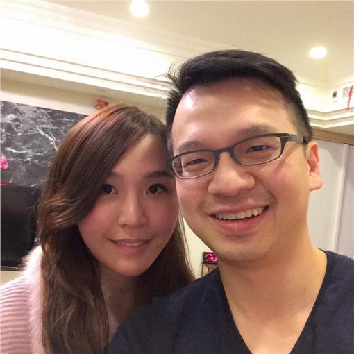 陳克誠,蔡佳芬 圖/翻攝自陳克誠臉書