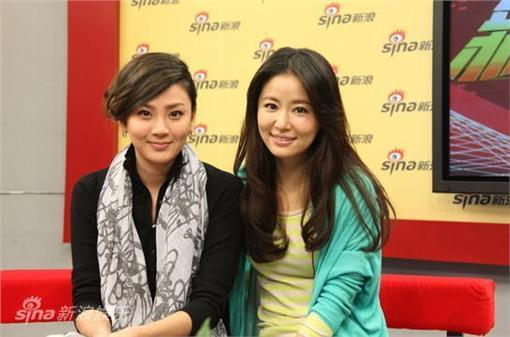 林心如、洪小鈴(圖/翻攝自新浪)http://dailynews.sina.com/bg/ent/tv/sinacn/20111010/04462828828.html