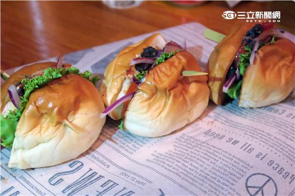 龍波斯特龍蝦三明治。(圖/記者簡佑庭攝影)