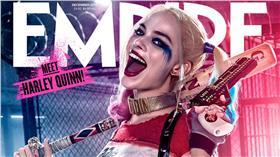 電影,自殺突擊隊,小丑女,小丑,阿卡姆瘋人院,漫畫,瑪格羅比,罪犯(http://nerdist.com/empire-magazine-reveals-new-suicide-squad-harley-quinn-and-deadshot-covers/)