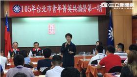 國民黨主席洪秀柱(圖/記者陳彥宇攝)