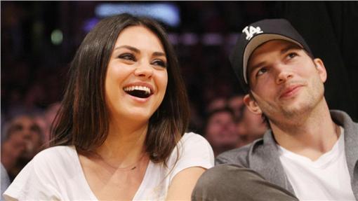Mila Kunis,Ashton Kutcher,蜜拉庫妮絲,艾希頓庫奇 圖/達志影像