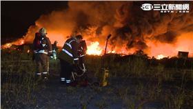 八里500坪鐵皮屋大火