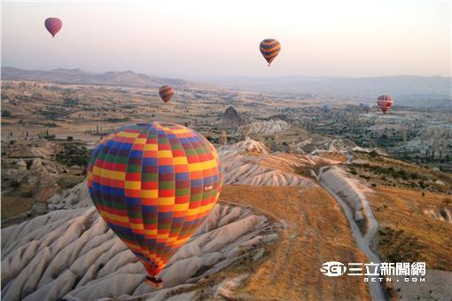 遊土耳其+1元 搭熱氣球飛天享受奇幻體驗(圖/雄獅旅遊)
