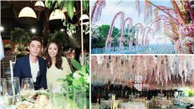 林心如 峇里島大婚 婚禮場地 圖/新浪、網易娛樂