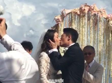 ▲霍建華、林心如於峇里島舉辦婚禮。(圖/翻攝自娛樂有飯微博)