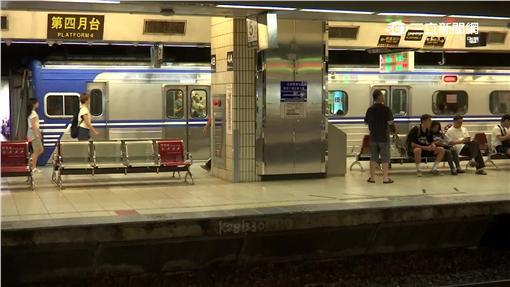 -台鐵-月台-台北車站-