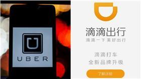 Uber,滴滴出行 翻攝自AP,百度百科