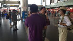 蘇治芬,越南河內機場  圖/翻攝自蘇治芬臉書
