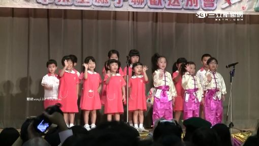 超齡幼兒畢禮 女童唱「酒矸倘賣無」