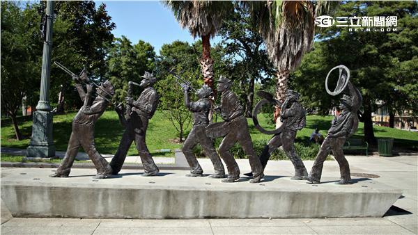 美國紐奧良爵士樂之旅。(圖/記者簡佑庭攝影)