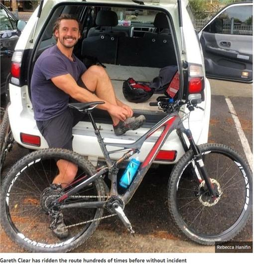 大腿,灼傷(圖/翻攝自鏡報)http://www.mirror.co.uk/news/world-news/brit-mountain-biker-reveals-horrific-8540224