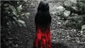 紅衣小女孩(圖/翻攝自紅衣小女孩 The Tag-Along臉書粉絲專頁)
