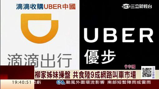 柳家堂姐妹聯手操盤 滴滴買下Uber中國