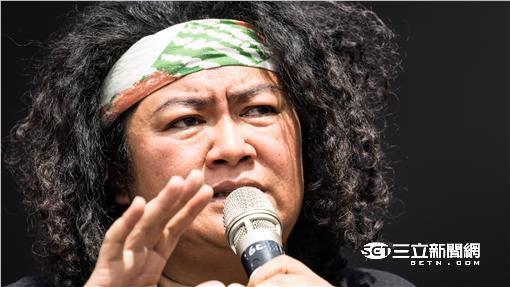 原住民抗議 巴奈·庫穗 凱道 記者林敬旻攝