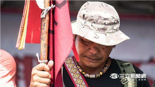 原住民抗議 馬耀・武道 凱道 記者林敬旻攝