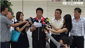 華航企業工會理事長。(圖/記者簡佑庭攝影)