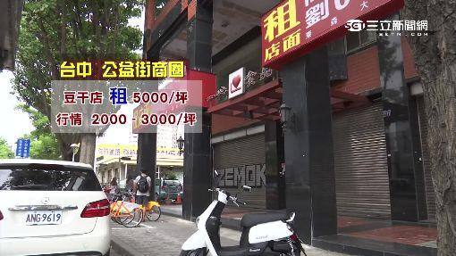 寸土寸金 台中鐵皮店面月租五萬五