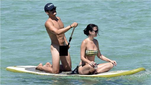 奧蘭多布魯,Orlando Bloom,凱蒂佩芮,Katy Perry,圖/New York Daily News