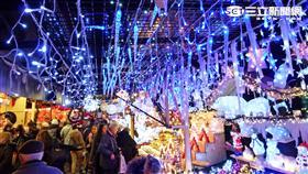 史特拉斯堡聖誕市集。(圖/翻攝自維基百科)