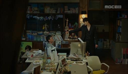 圖翻攝自MBC截圖 李鍾碩 韓孝周 W兩個世界