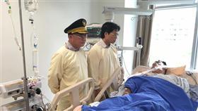 砍警,張家逢,葉俊榮,陳國恩(左) 圖/中央社