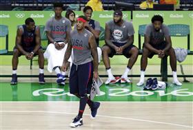 奧運,籃球,美國,NBA 圖/美聯社/達志影像