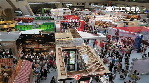 2016台灣美食展。(圖/記者簡佑庭攝影)