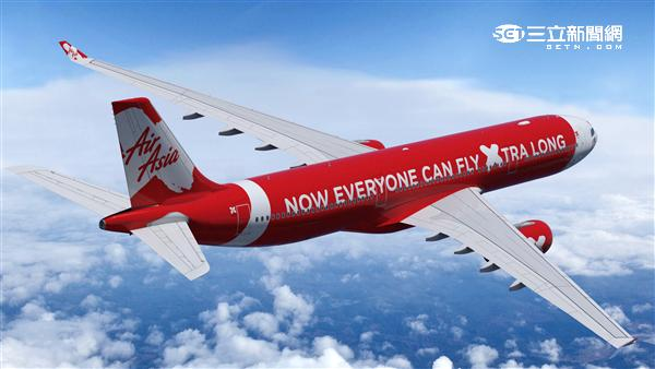 AirAsia亞洲航空。(圖/亞航提供)