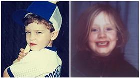 Justin Timberlake,Adele,合成圖/每日郵報、Glamour Magazine