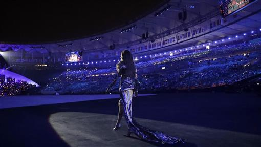 巴西超模吉賽兒,里約奧運開幕式(AP)