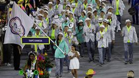 里約奧運開幕式進場,中華隊,台灣(ap)