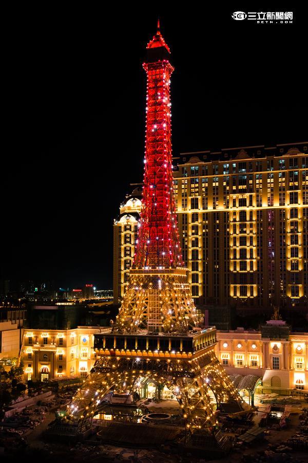 澳門巴黎人酒店。(圖/巴黎人提供)