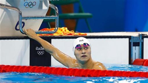 中國大陸泳將孫楊(圖/翻攝自微博)