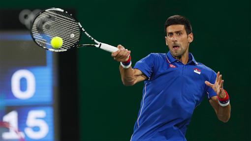 喬科維奇(Novak Djokovic)里約奧運首輪輸給阿根廷名將德爾波特羅(Juan Martin Del Potro)/AP